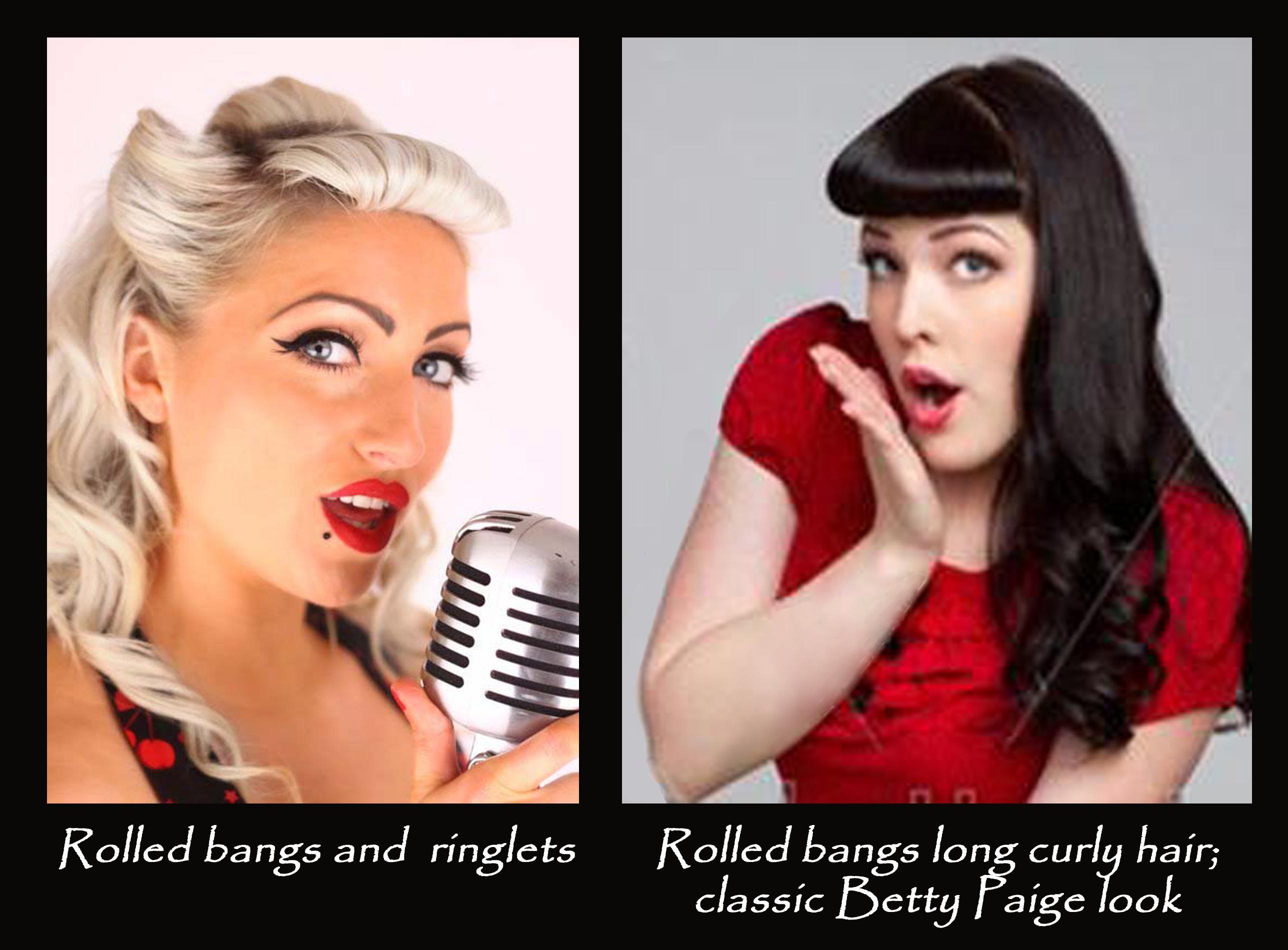 pin up hairstyles & makeup | orlando's #1 boudoir-pin up-glamour