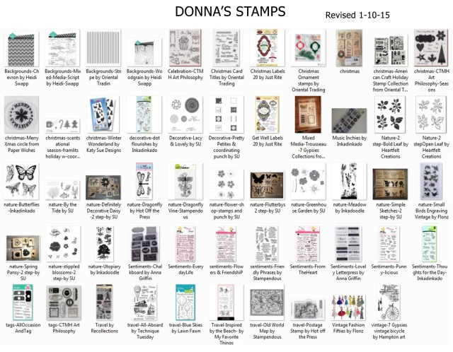 Donnas Stamps