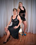blk-lace-gown fits size 2 thru 10; blk-teddy various sizes